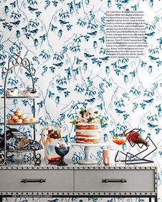 Entertainer's Delight. We spy our 3 tiered Bernard stand sitting pretty on this beautiful table spread by House & Garden Magazine. Styling by @kayla_gex www.provincialhomeliving.com.au