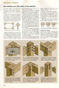 Visit the post for more. Woodworking Jointer, Woodworking Skills, Carpentry, Woodworking Plans, Woodworking Projects, Camper Interior Design, Wood Joints, Diy Holz, Wood Construction