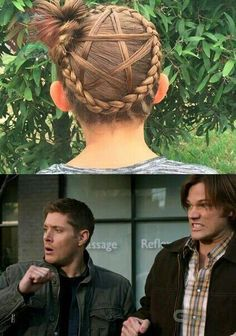 Funny girl memes fandoms 31 New ideas Supernatural Tattoo, Supernatural Destiel, Supernatural Symbols, Girl Memes, Girl Humor, Sam E Dean, Supernatural Pictures, Funny Memes About Girls, Super Natural