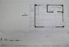 Planta primer piso Refugio Guardabosques