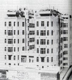 Tenement Building, Edward Potter 1888