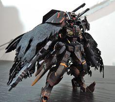 HG Gundam Astaroth - Customized Build Modeled by 紙白 Gundam Toys, Gundam Art, Gundam Astaroth, Mecha Suit, Gundam Wallpapers, Genesis Evangelion, Gundam Mobile Suit, Gundam Custom Build, Accel World