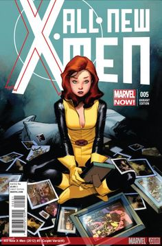 ALL NEW X-MEN #5 Rare 1/50 VARIANT by Oliver Coipel
