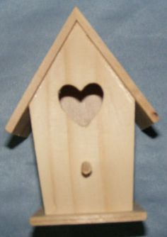 we have a lot of bird houses but I have never built one.  I Want to build it because it involves saw work.