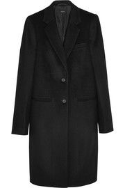 Man wool and cashmere-blend coat