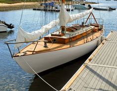 1929 43' wooden sailboat. gorgeous