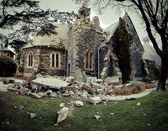 So many church buildings fell