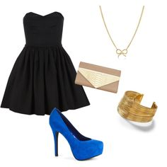 """""""Toque Azul"""" by amandaagcs on Polyvore"""