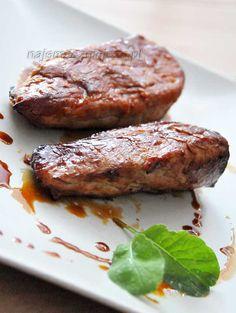 Polędwiczki wieprzowe w miodzie Steak, Bbq, Pork, Food And Drink, Dishes, Cooking, Recipes, Heaven, Barbecue