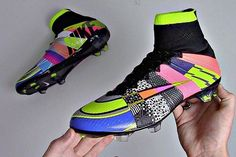 hi newest soccer shoes in our store 'What The' #Mercurial Superfly IV head over…