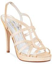 Caparros Susannah Platform Evening Sandals