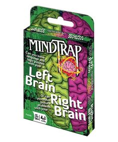 Take a look at this Left Brain Right Brain MindTrap today!