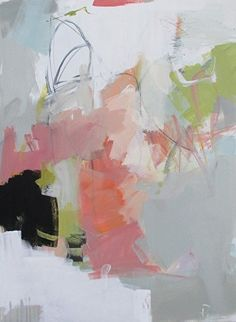 """Redux3 by Eileen Power Acrylic ~ 40"""" x 30"""""""