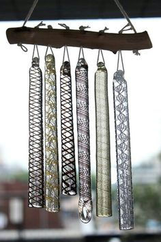 Japanese wind glass chimes