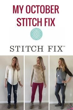 Your Trainer Paige - Fall Stitch Fix  @stitchfix #stitchfix #fall #sweaters