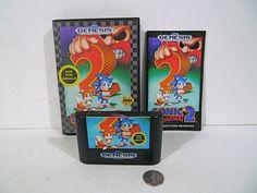 Sonic the Hedgehog 2  (Sega Genesis, 1992) Game Complete !!!