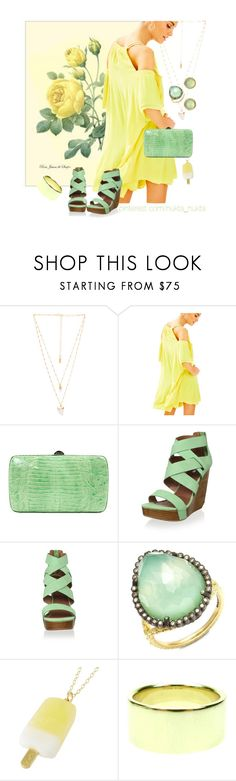 """Lemon Rose"" by nuktanukta ❤ liked on Polyvore featuring Natalie B, Lilly Pulitzer, Sergio Rossi, Matiko, Armenta, Tiffany & Co. and Melissa Joy Manning"