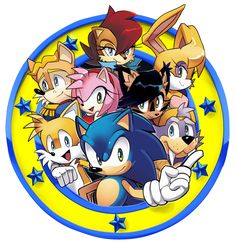 Freedom Fighters Emblem /Archie Sonic Online by Drawloverlala on DeviantArt Game Sonic, Sonic Art, Archie Sonic Online, Archies Online, Sonic Birthday Parties, Sally Acorn, Mundo Dos Games, Sonic Franchise, Sonic And Shadow