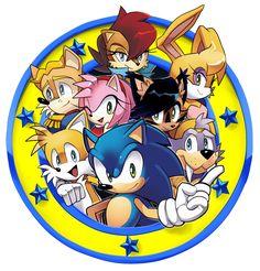 Freedom Fighters Emblem /Archie Sonic Online by Drawloverlala on DeviantArt