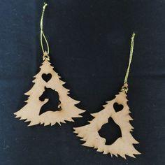 Christmas : Pet Christmas Trees Christmas Animals, Christmas Trees, Christmas Decorations, Terrier, Seasons, Drop Earrings, Pets, Jewelry, Xmas Trees