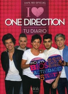 In this diary you can tell all your secrets and fantasies about ONE DIRECTION…