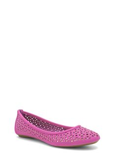 Cut-Out Ballet Flats ORCHID NUDE BLACK
