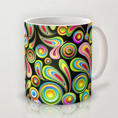 Strange Cute And Colorful Coffee Mugs Gifts