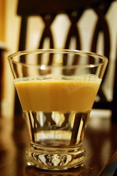 One of my favorite shots..Buttery Nipple - butterscotch schnapps and bailey's.