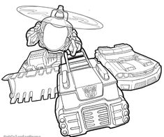 All Rescue Bots Coloring Pages For Kids Printable Free Ergasies