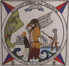 US02 - Battles of Dunbar and Worcester - The Scottish Diaspora Tapestry