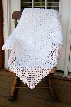 crochet baby blanket by tlovemurphy