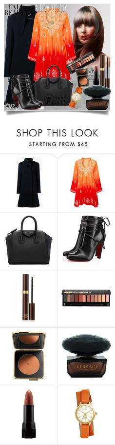 """#444"" by sedinashatri ❤ liked on Polyvore featuring Chloé, Juliet Dunn, Givenchy, Christian Louboutin, Tom Ford, Sephora Collection, Estée Lauder, Versace, Serge Lutens and Tory Burch"