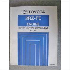 Toyota 3rz Fe Engine Repair Manual Supplement 2001 Rm908e On Ebid United Kingdom Repair Manuals Engine Repair Transmission Repair