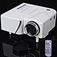 UC-40 400 Lumens Two Colors Portable Home Mini LED Projector Support AV/SD/VGA/HDMI-45.41 and Free Shipping| GearBest.com