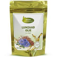 #Lijnzaad olie softgels zijn vervaardigd uit koudgeperste olie van lijnzaadjes. Lijnzaad is een rijke bron van Omega 3 en wordt gebruikt bij gewichtsbeheersing en het stimuleren van de spijsvertering. Prijs per 60 softgels: €16,95
