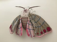 Fiber Artist  Molly Burgess. This is gorgeous!