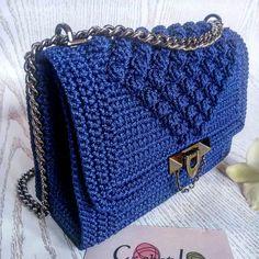 #fashion #crocheted #knitted  #bag #handmade