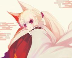 kawaii kitsune girl
