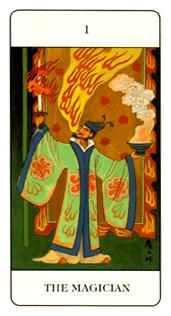 December 27 Tarot Card: The Magician (Chinese deck) When you put an emphasis on the traits and strengths you possess, and not what you lack, you create an alignment between your current self and your ultimate destiny