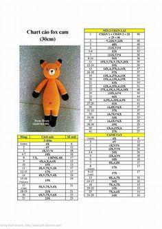 amigurumi fox free pattern