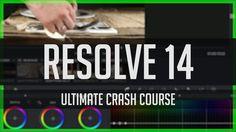 Resolve 14 Crash Course!  - DaVinci Resolve Basics Tutorial 2017 - YouTube