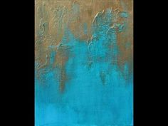 How to Paint with Acrylics: Create A Textured Abstract Art Painting - Us...