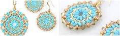 <p>DIY Mandala necklace and earrings set tutorial Easy to make DIY Mandala jewellery for Autumn on a long fine gold chain. Buy the beads you need here Make this DIY Mandala using Superduos, 11/0 seed beads and 15/0 extra tiny seed beads, with some beautiful Swarovski crystal bicones around the …</p>