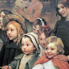 The Children, Henry Jules Jean Geoffroy. French (1853 - 1924)