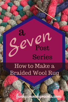 So you're looking to take up wool rug braiding? Here's what you'll need -- and need to know -- to start your first rug! Home Decor Colors, Colorful Decor, Fall Crafts, Crafts For Kids, Braided Wool Rug, Rag Rug Tutorial, Doily Rug, Diy Braids, Second Hand Stores