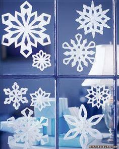 Tutorial para hacer bellos copos de nieve, de papel. Con 34 Plantillas. | Ideas y material gratis para fiestas y celebraciones Oh My Fiesta!