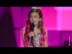 i love this song bcause my bassist - Eve Sings Still Into You   The Voice Kids Australia 2014