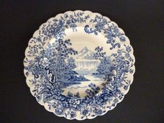 Royal Staffordshire Plate Peaceful Summer