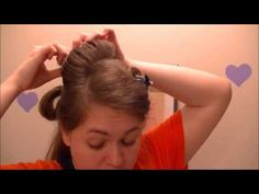 This is a quick and easy hairstyle for work or school. Music by danosongs