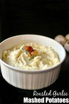 Roasted Garlic Mashed Potatoes - Aunt Bee's Recipes